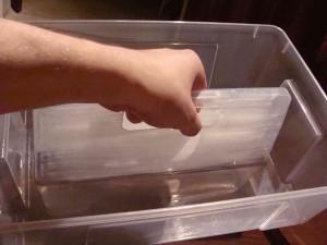 bedna, plastová krabička